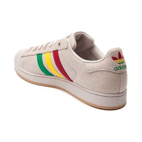 wholesale dealer a3165 4f2cc Mens adidas Superstar Hemp Athletic Shoe