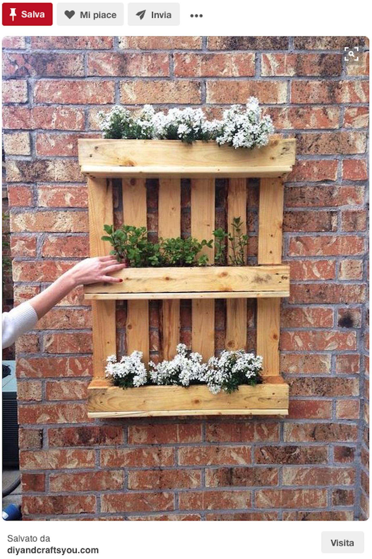 Creazioni fai da te idee giardino da pinterest idee for Creazioni giardini