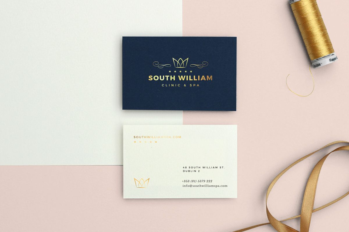 South william clinic spa branding liam willis design logo a new clinic spa offering cosmetic and relaxation treatments and products at a prime location in dublin the team sought a visual identity to convey the reheart Gallery
