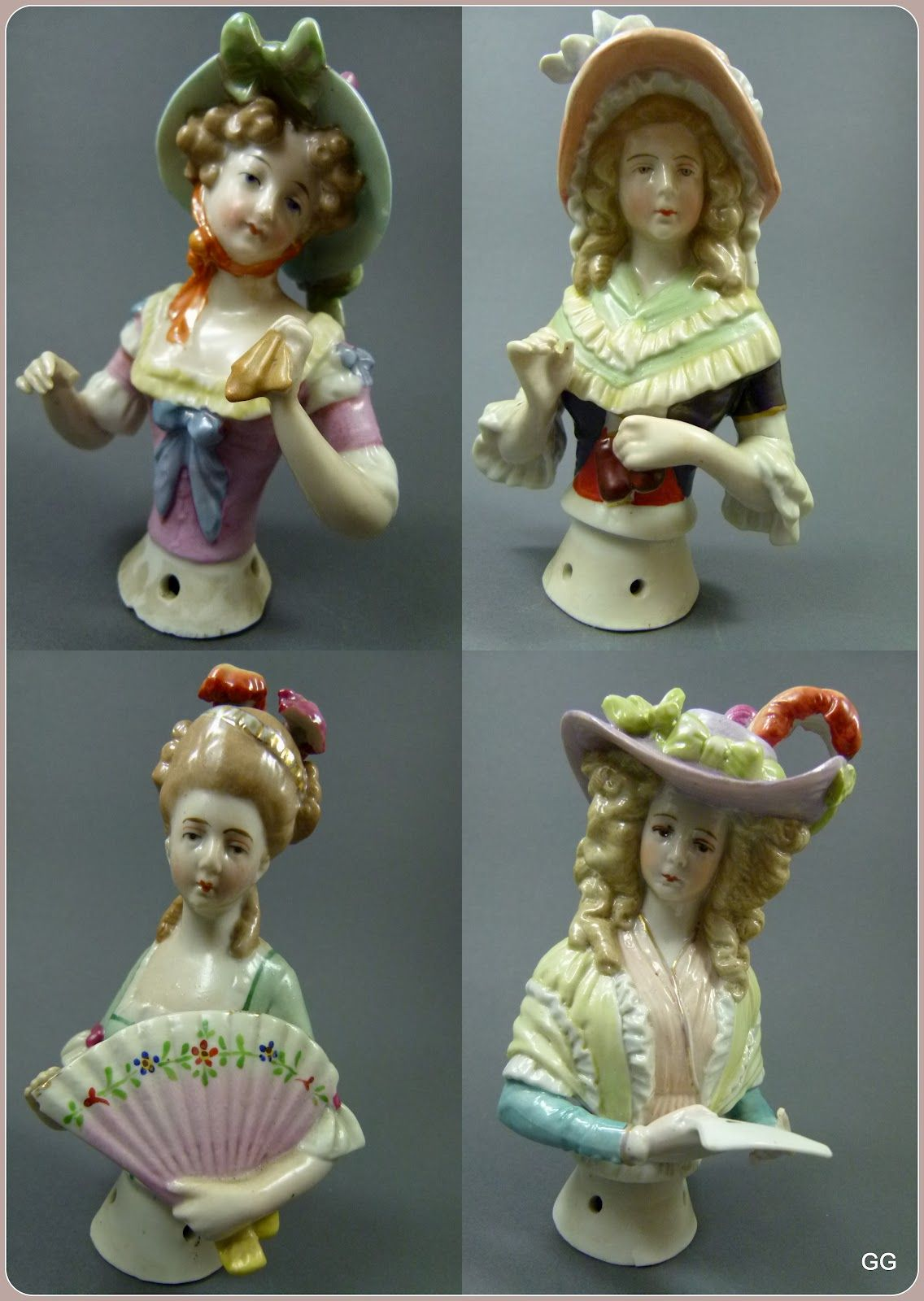 Sitzendorf produced a large number of beautiful half dolls and half doll related…
