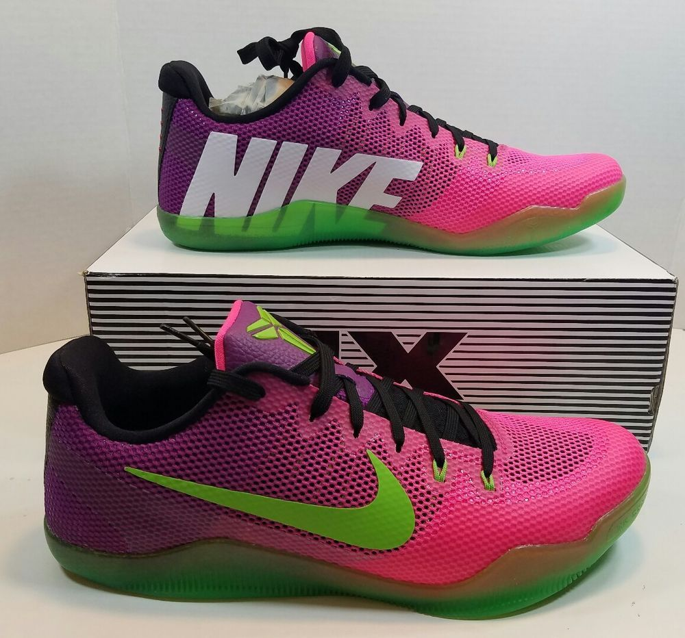 newest 20785 10410 NIKE KOBE XI 11 LOW MAMBACURIAL PINK FLASH PLUM 836183-635 Size 8.5 ELITE   Nike  AthleticSneakers