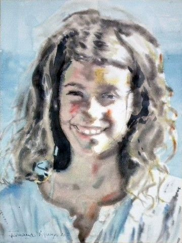 Watercolour - 40x30 cm.
