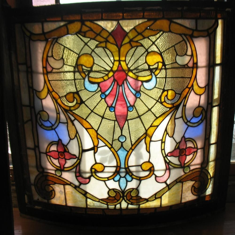 Stained glass houses stained glass windows in houses for Victorian stained glass window film