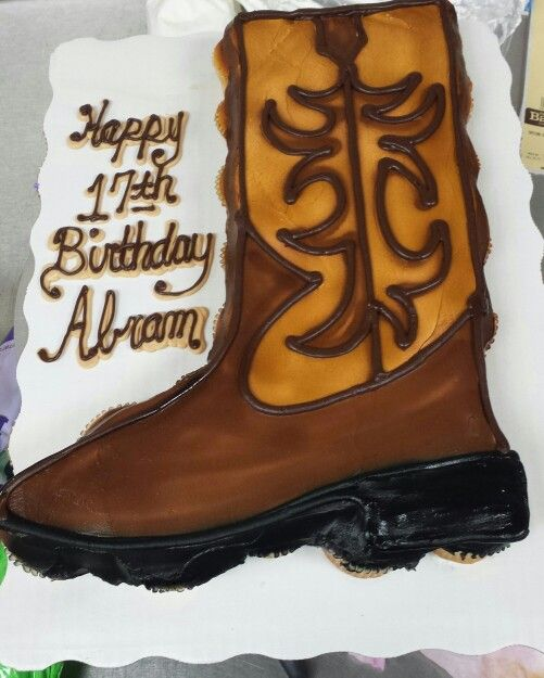 Cowboy Boot Cupcake Cake With Images Cupcake Cakes Western