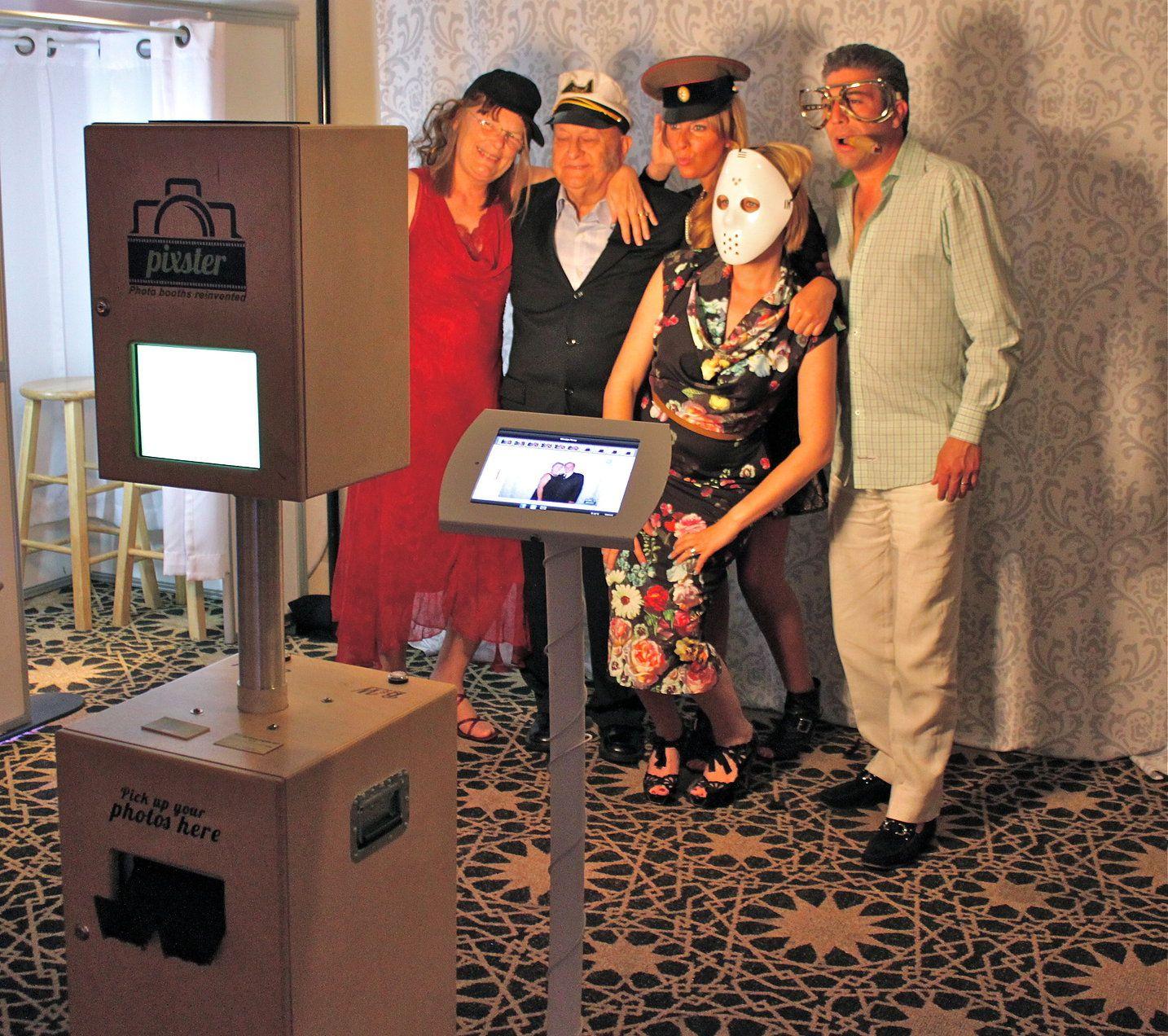 Pixster photo booth rental san diego los angeles