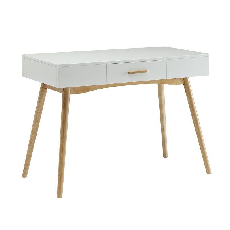 Delilah Writing Desk In 2020 Furniture Desk With Drawers Writing Desk