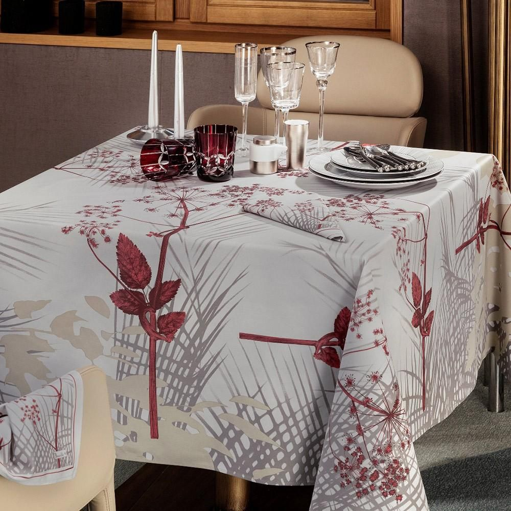 Caucase Pearl Tablecloth Christmas Linen Table Cloth Holiday Linens