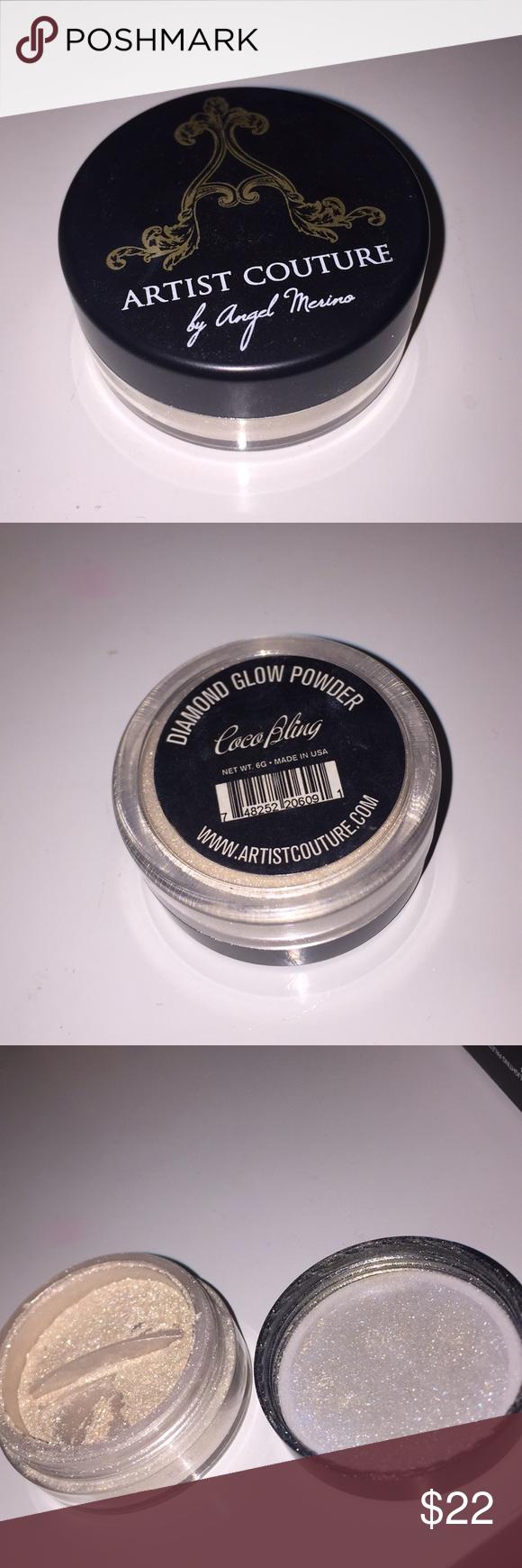 Artist Couture diamond glow powder A Highlighting powder