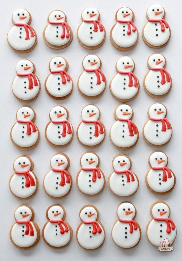 10 Charming Ways To Decorate Christmas Cookies Dessert