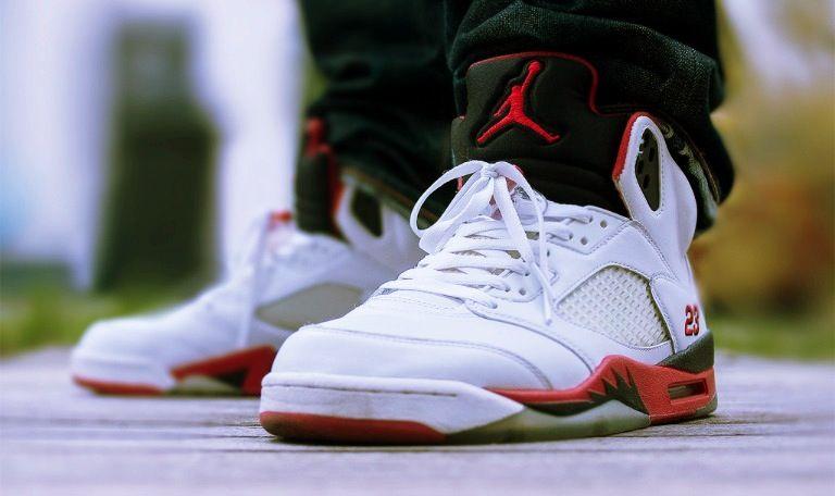 online store 6850d 4dfca Pin by MJ on Jordan 5's on Feet | Jordans, Jordan v, Air jordans