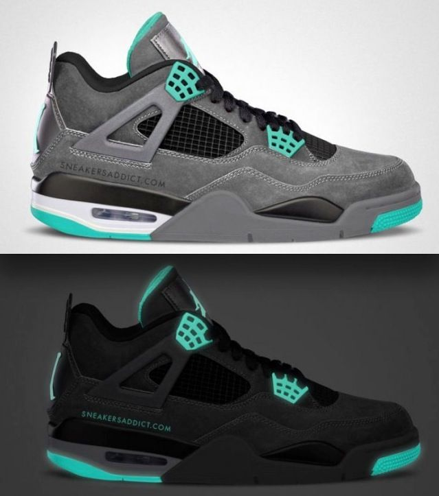 new york f87c7 19abe Green Glow Jordan 4s , Expected to release in August !! A ...