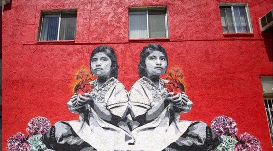 stencil arte urbano corazon - Buscar con Google