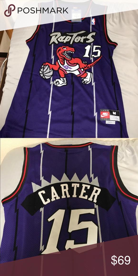 online store b312b 10199 Toronto Raptors Vince Carter Jersey Throwback Toronto ...