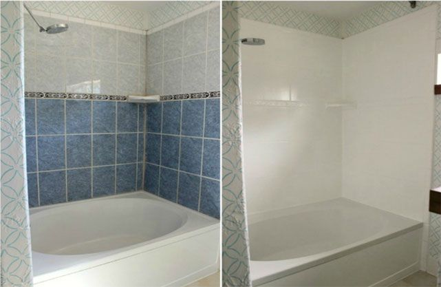 Comment peindre un ancien carrelage avec images - Comment peindre carrelage salle de bain ...