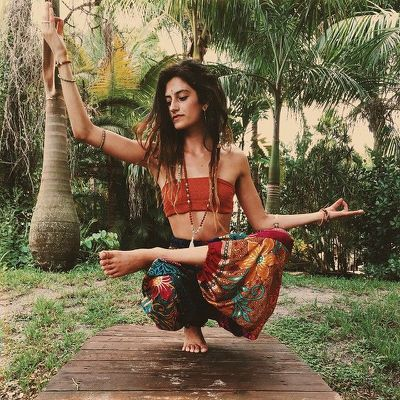 rebecca james  gipsy fashion in 2019  hippie yoga