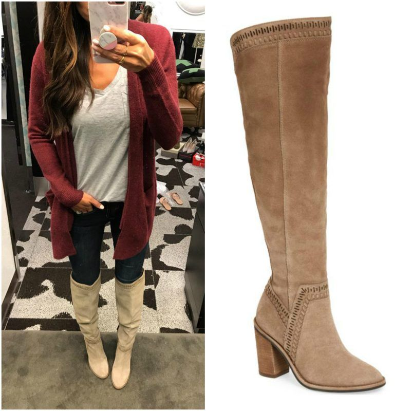 13684b4876b Image result for vince camuto madolee over the knee boot outfit ...