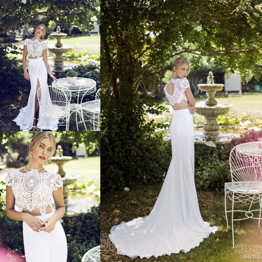 2 piece wedding dresses vestido de novia 2 piezas Buscar con Google Two Piece Wedding DressWedding