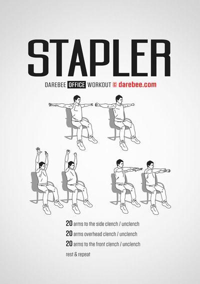 Workouts home tips ejercicios con una silla for Sillas de oficina para problemas de espalda