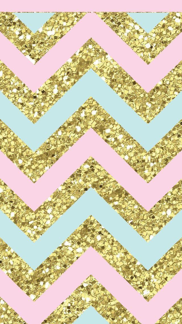 Background Wallpaper Iphone Cute Glitter Wallpaper Gold Chevron Wallpaper