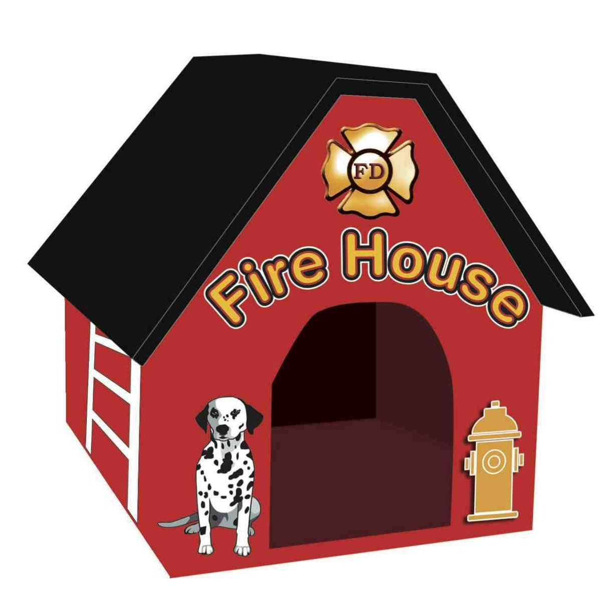 Portable Firehouse Dog House New And Awesome Dog Product