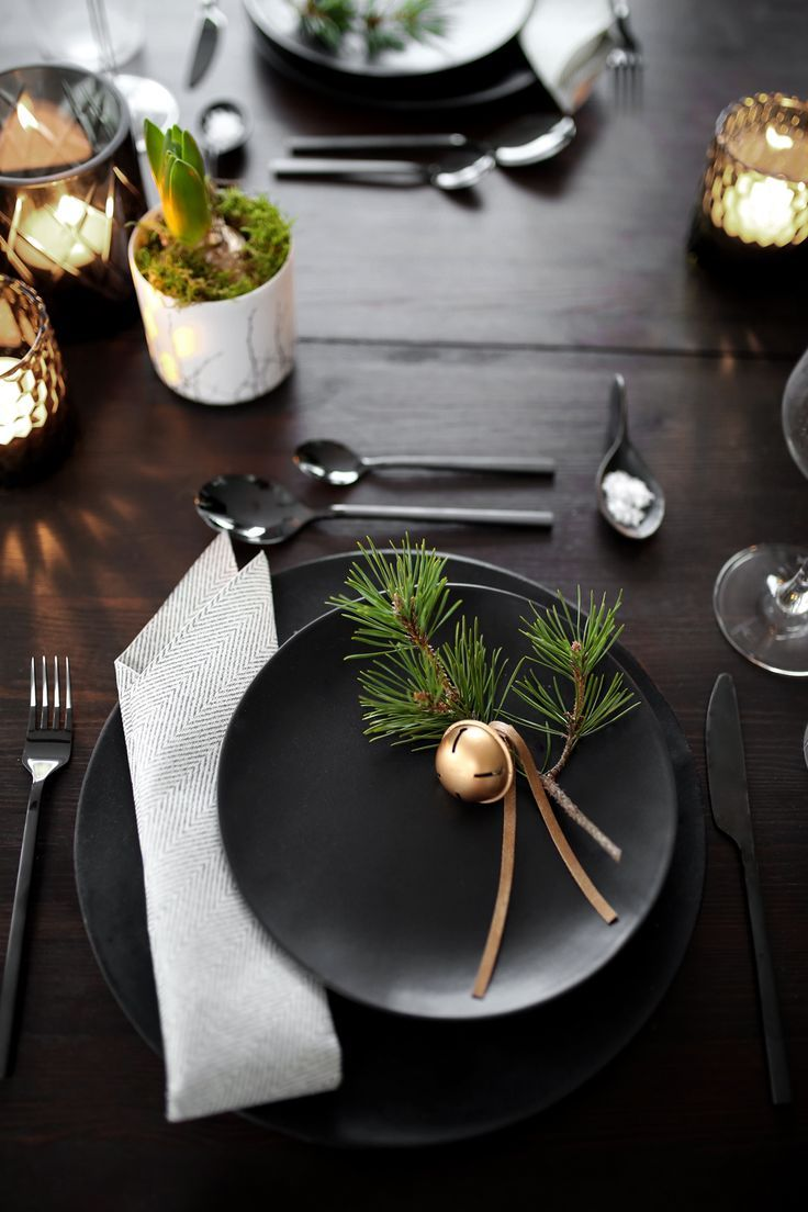 Christmas Table Setting Winter Wonderland Beautiful Christmas