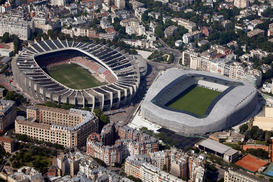 Parc des Princes et Stade Jean Bouin | Ricciotti