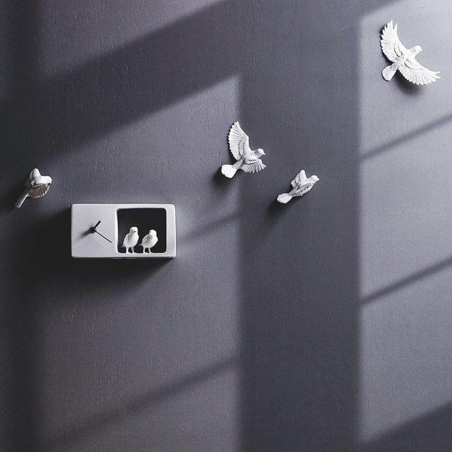 Fancy sparrow clock by haoshi design house pinterest clocks fancy sparrow clock by haoshi design altavistaventures Choice Image