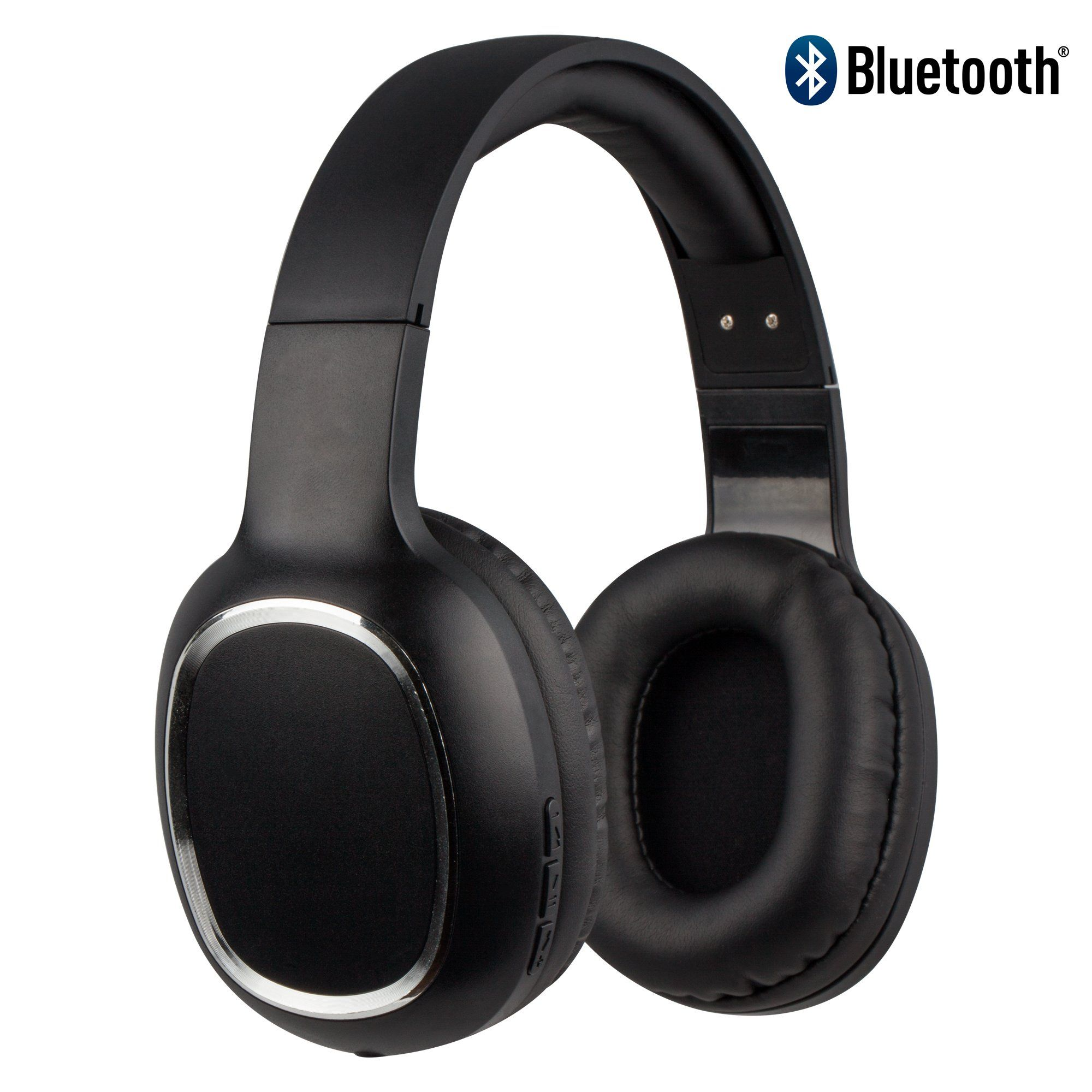 aa91cf343a4 CYLO FREEWAVE Wireless Bluetooth Headphones Lightweight Over Ear Stereo  Bluetooth Headphones With Bass, Microphone and
