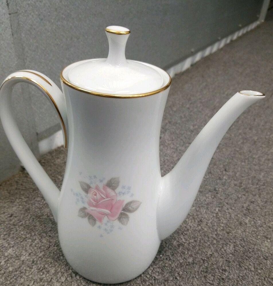 Preowned Noritake Roseville 6 Teapot Coffee Pot Dinnerware Made In Japan Tea Pots Roseville Coffee Pot
