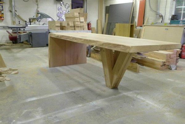 Houten tafel maken fun funiture table furniture