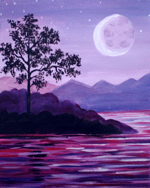 violet crescent bay at cafe blanca riverfront paint nite events near calgary ab - Violet Cafe 2015