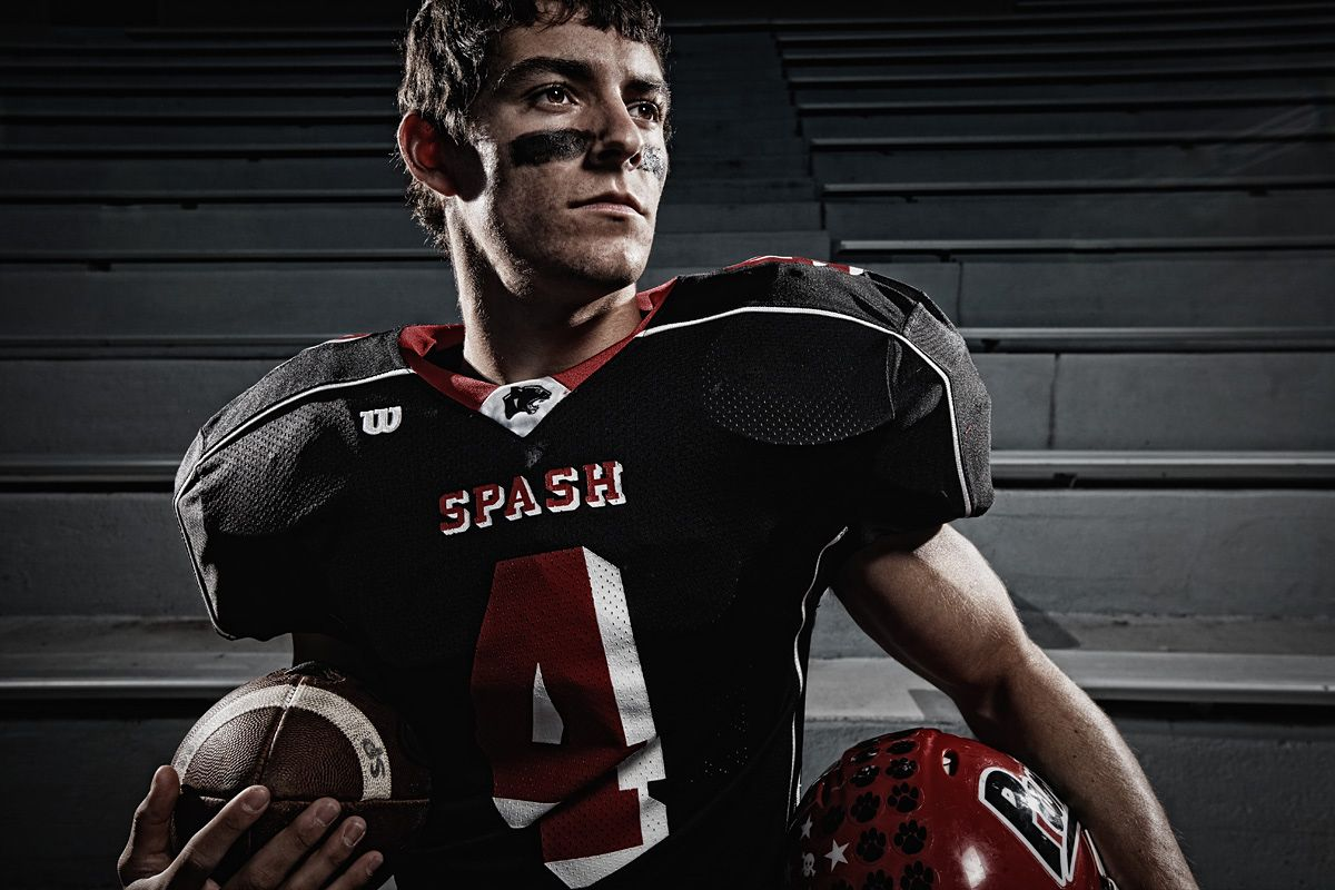 Sports Photography School: Love The Rim Lighting And Desaturated Look