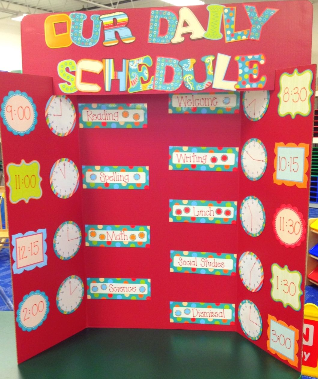 Keep Your Classroom On Track With This Adorable Set Of Dots On Turquoise  From Creative Teaching. Schedule BoardClass ScheduleOrganization IdeasClassroom  ...
