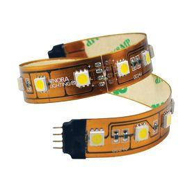 Nora Lighting 16 Ft Plug In Under Cabinet Led Tape Light Nutp5