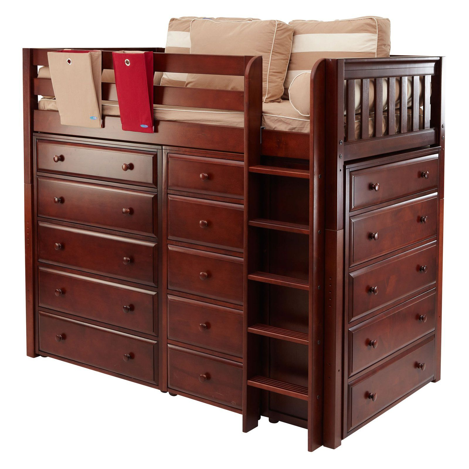 Master I Storage Loft Loft beds for small rooms, Beds