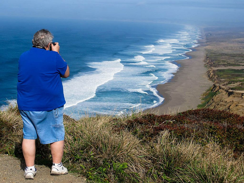 12-4-14 Photo Challenge:  Just  can't help taking another picture!  Point Reyes National Seashore, CA