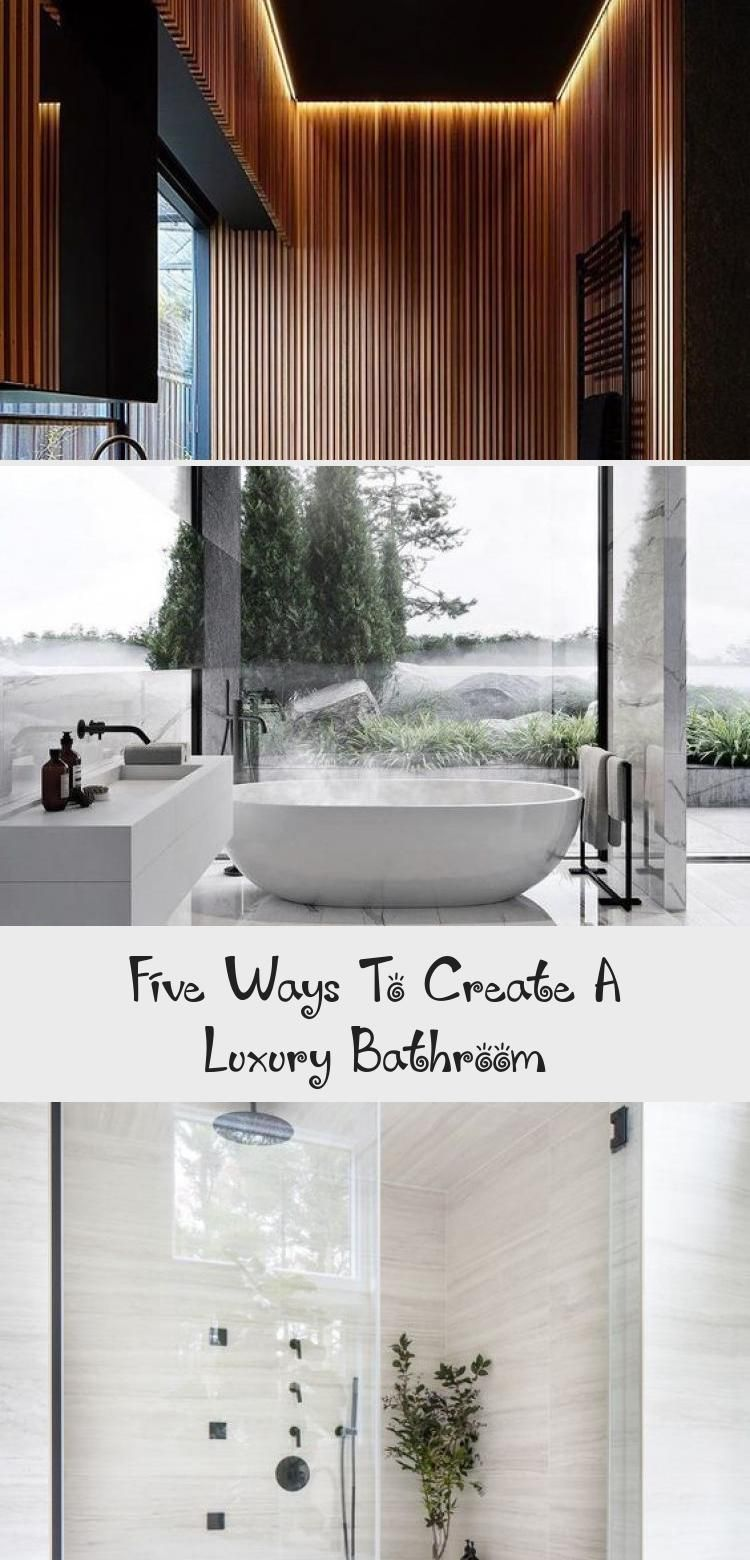 Five Ways To Create A Luxury Bathroom Elsie S Blog In 2020 Luxury Bathroom Luxury House Designs Luxury Home Decor