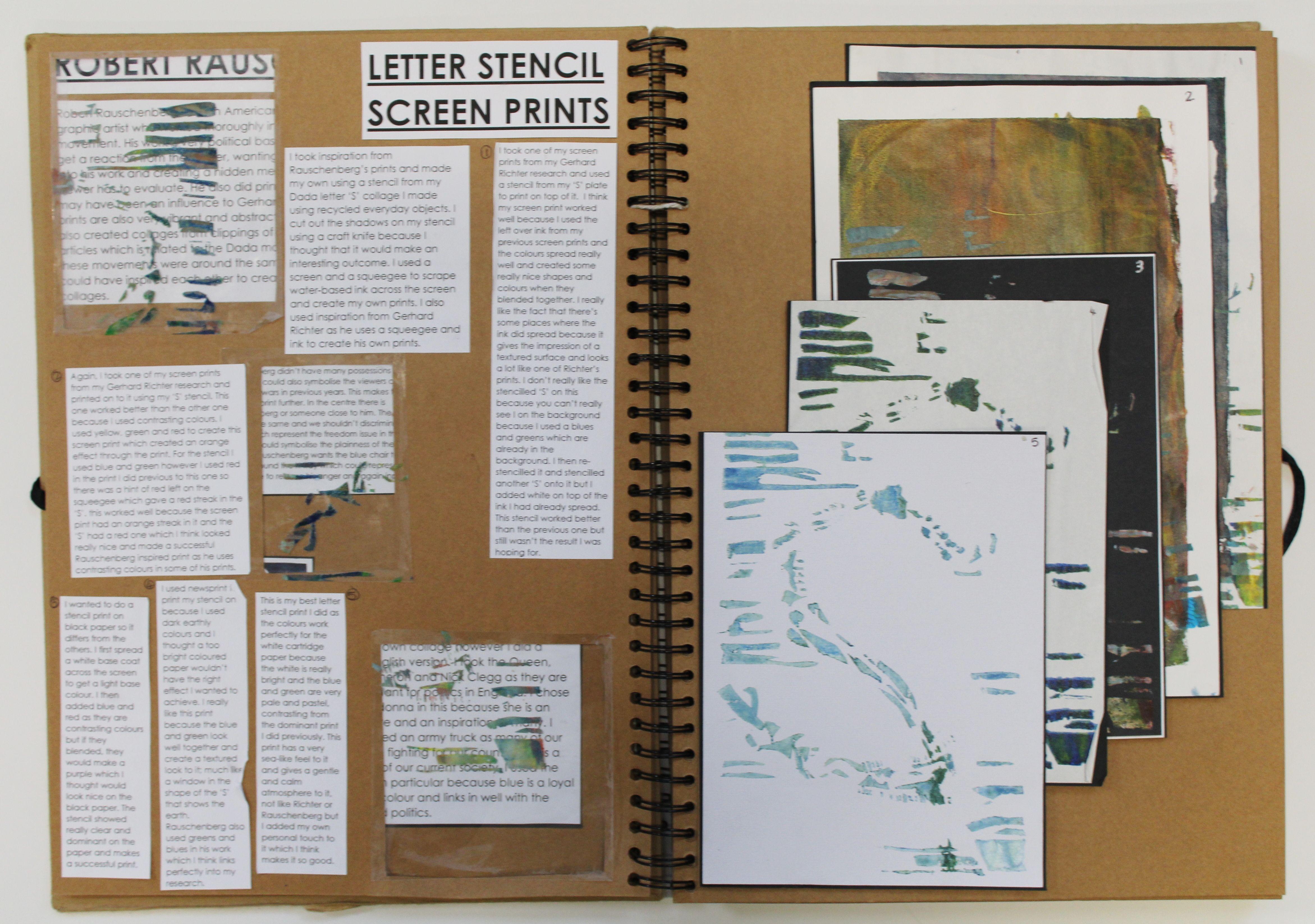 As Graphic Communication A3 Brown Sketchbook Screen Prints Esa Theme Relationships Thomas Rotherham C Sketch Book Photography Sketchbook Graphic Design Art