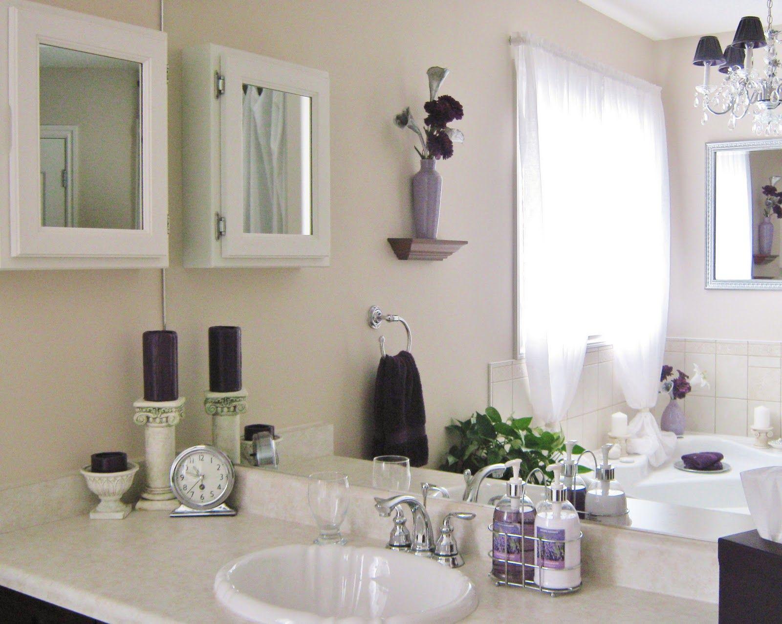 White Bathroom Vanity Decorating Ideas House White