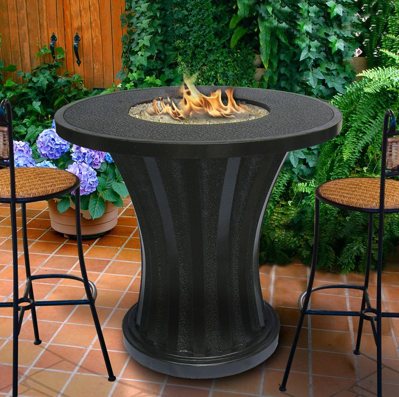Rodeo Balcony Height Fire Pit Table Fire Pit Table Gas Fire Pit Table Outdoor Fire Pit Table