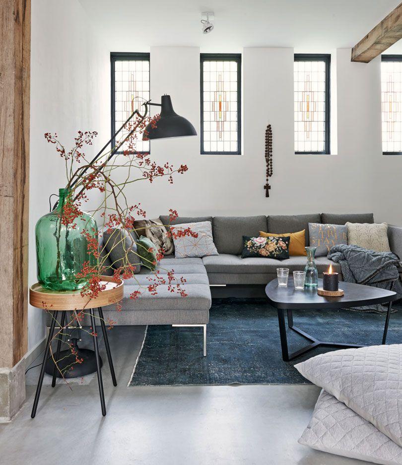 woonkamer-bank-kussens | Interieur Inspiratie | Pinterest | Glass ...