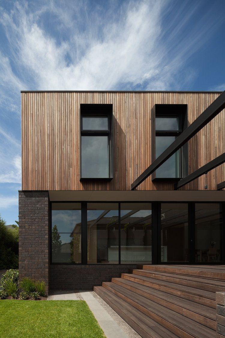 Pin von Lemmy auf draußen | Pinterest | Holzfassade, Moderne häuser ...