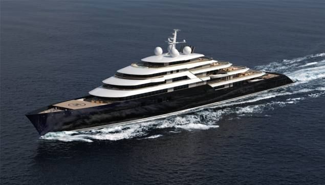 Nauta Yachts Designer Of The World S Largest Yacht Unveils A 541