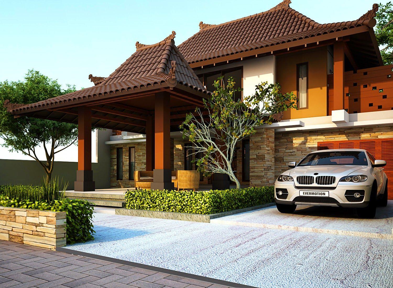 Rumah Minimalis Gaya Jawa Modern Ideas For Home Pinterest