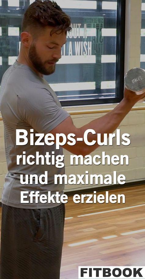 Viele Männer träumen von dicken Oberarmen, dabei sind zwei Muskeln entscheidend – der Trizeps und de...