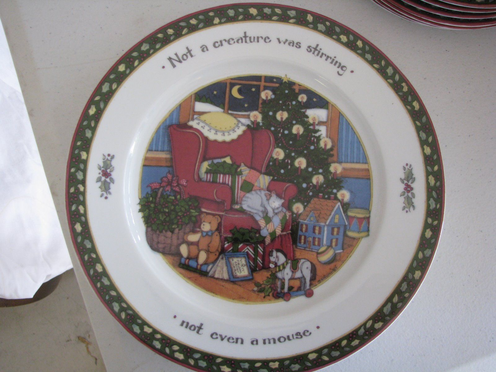 Susan Winget A Christmas Story Dinner Plate | To File | Pinterest | eBay