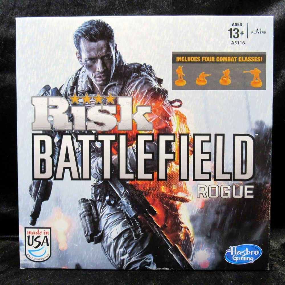 Risk Battlefield Rogue Strategy Board Game 100 Complete