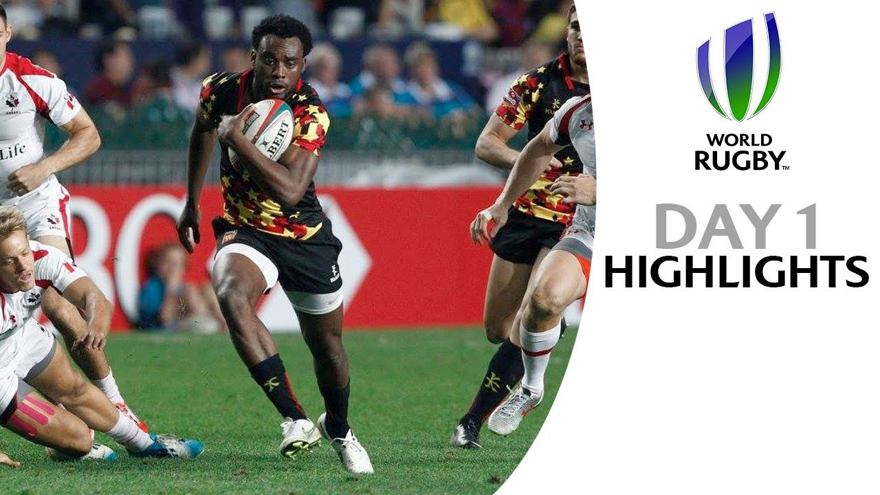 Highlights from the Hong Kong Sevens on day one. All