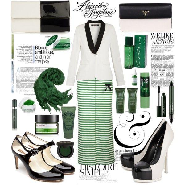 """yeşil siyah"" by hannahsweety on Polyvore"