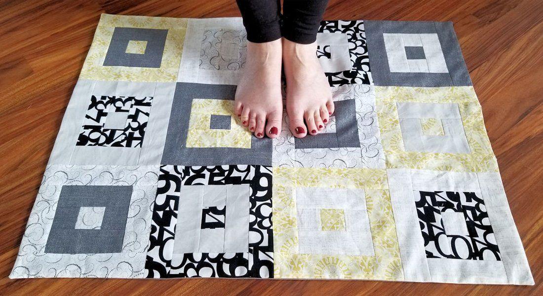 Modern Floor Cloth Floor Cloth Jelly Roll Quilt Patterns